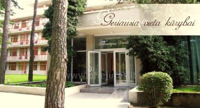 30 vietų konferencijų salė Palangoje viešbutyje Palangos dailė - 2