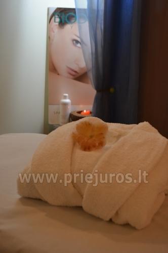 Sauna, SPA paslaugos Palangoje viešbutyje Best Baltic Hotel Palanga - 6