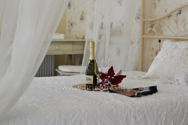 Apartment for newlyweds and romantic couples in Palanga, villa BALTAS NAMAS
