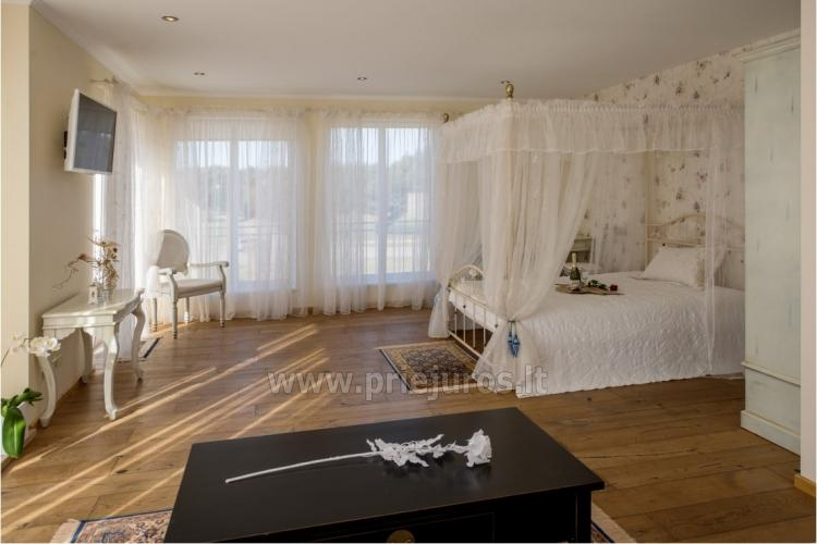 Apartment for newlyweds and romantic couples in Palanga, villa BALTAS NAMAS - 4