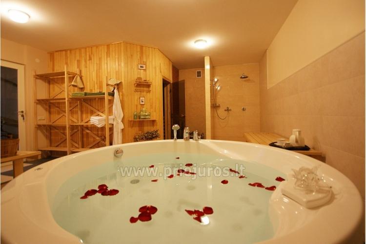 Apartamentai jaunavedžiams ir romantiškoms porelėms Palangoje viloje BALTAS NAMAS - 8