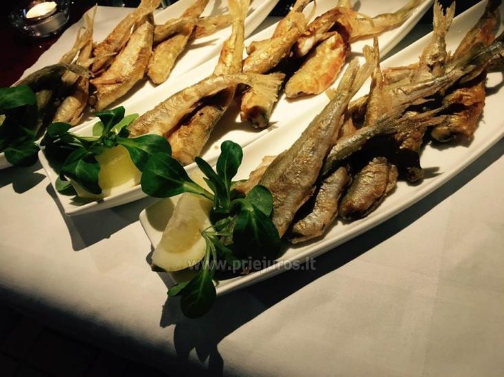 Restoranas Palangoje Feliksas. Organizuojame banketus, furšetus, asmenines bei įmonių šventes, ruošiame gedulingus pietus - 15