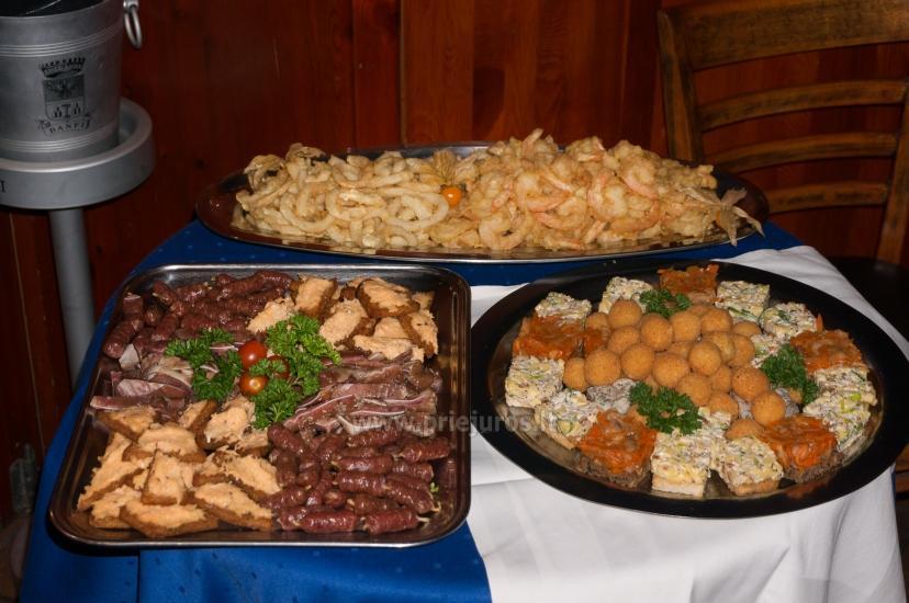 Restoranas Palangoje Feliksas. Organizuojame banketus, furšetus, asmenines bei įmonių šventes, ruošiame gedulingus pietus - 16