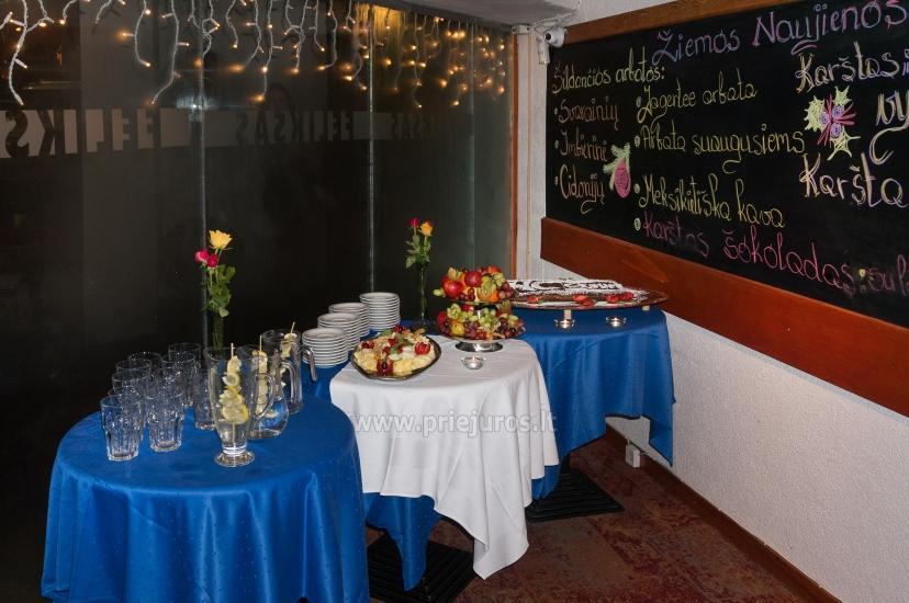 Restoranas Palangoje Feliksas. Organizuojame banketus, furšetus, asmenines bei įmonių šventes, ruošiame gedulingus pietus - 18