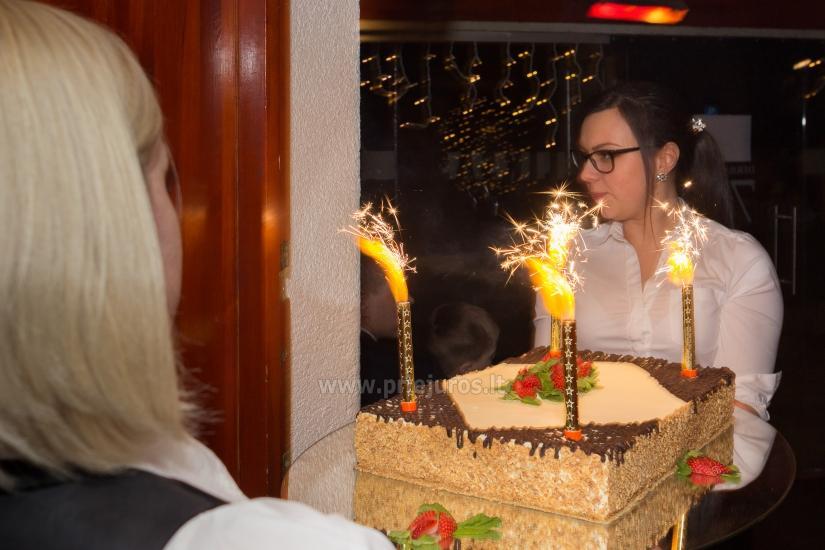 Restoranas Palangoje Feliksas. Organizuojame banketus, furšetus, asmenines bei įmonių šventes, ruošiame gedulingus pietus - 14
