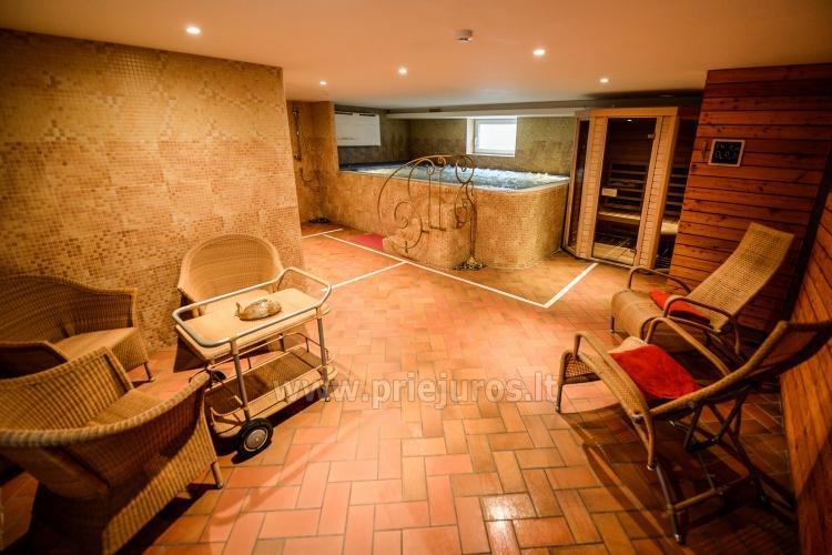 Pirtys, masažinė vonia svečių namuose Nidos Seklyčioje - 2