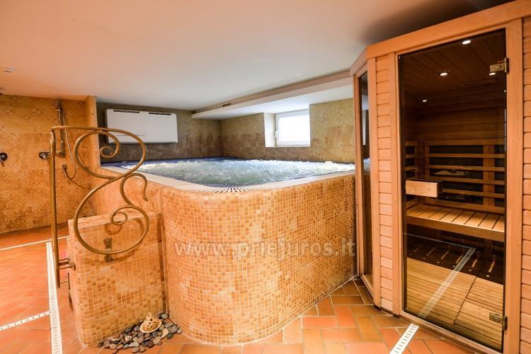Pirtys, masažinė vonia svečių namuose Nidos Seklyčioje - 4