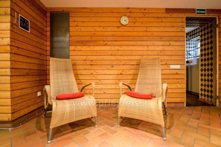 Pirtys, masažinė vonia svečių namuose Nidos Seklyčioje - 7