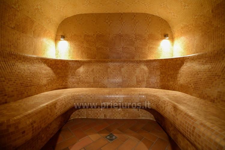 Pirtys, masažinė vonia svečių namuose Nidos Seklyčioje - 8