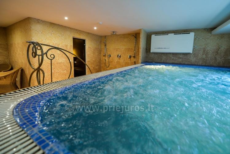 Pirtys, masažinė vonia svečių namuose Nidos Seklyčioje - 1