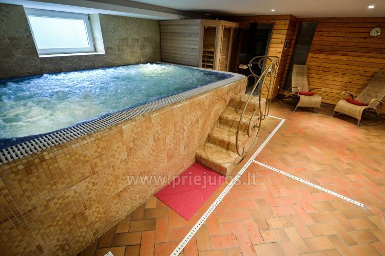 Pirtys, masažinė vonia svečių namuose Nidos Seklyčioje - 6