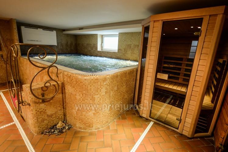 Pirtys, masažinė vonia svečių namuose Nidos Seklyčioje - 5