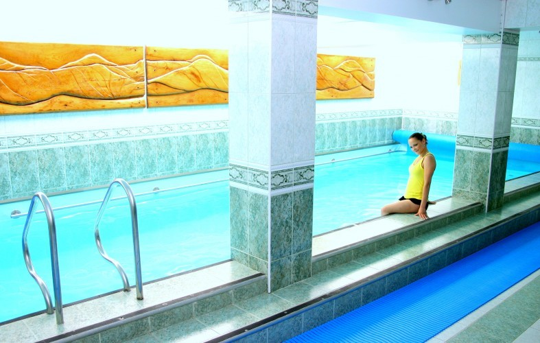 SPA, saunas, swimming-pools, water attractions in Juodkrante in resthouse Azuolynas **** - 1
