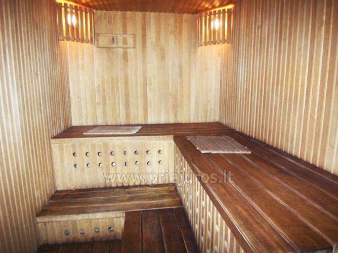 Sauna su baseinu, masažinė vonia šeimyniniuose apartamentuose Po kaštonu*** - 5