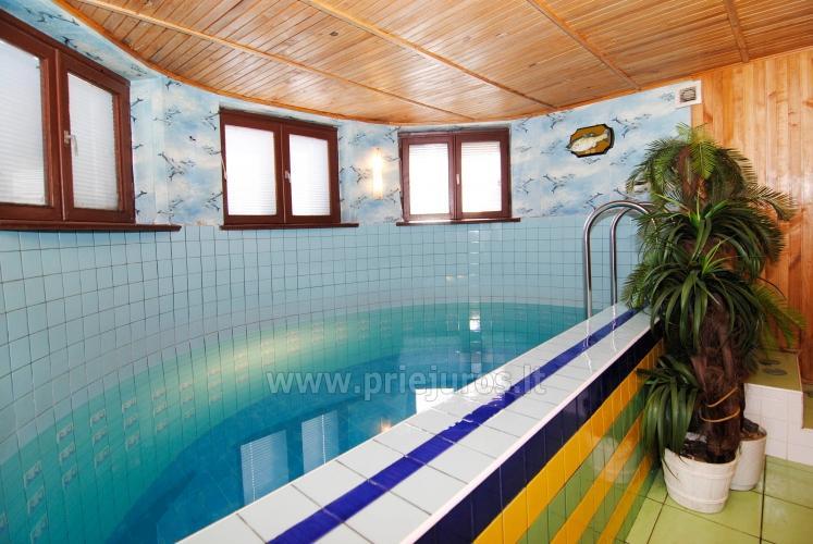 Sauna su baseinu, masažinė vonia šeimyniniuose apartamentuose Po kaštonu*** - 3