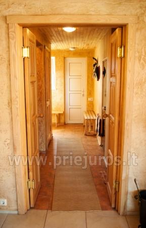 Badehaus und Bankettsaal zur Miete in Sventoji 200 m zum Meer - 6