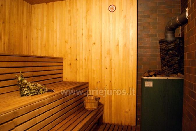 Badehaus und Bankettsaal zur Miete in Sventoji 200 m zum Meer - 7