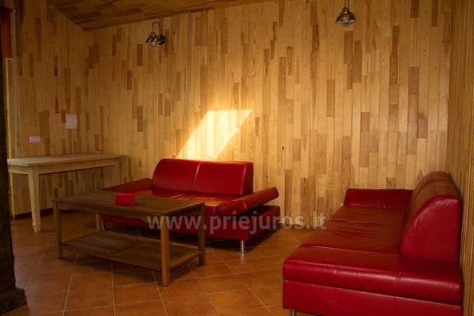 Badehaus und Bankettsaal zur Miete in Sventoji 200 m zum Meer - 11