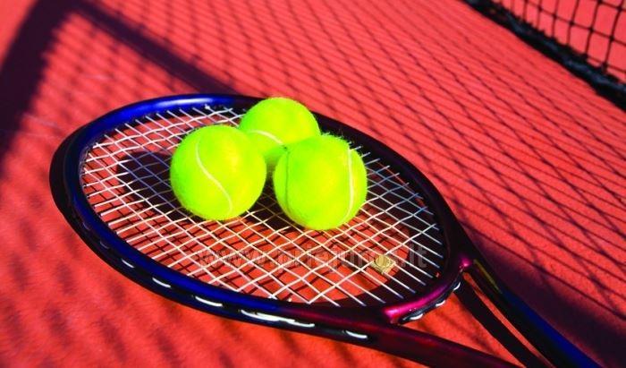 Tennisplatz in Niddeniim Hotel ORO Nida