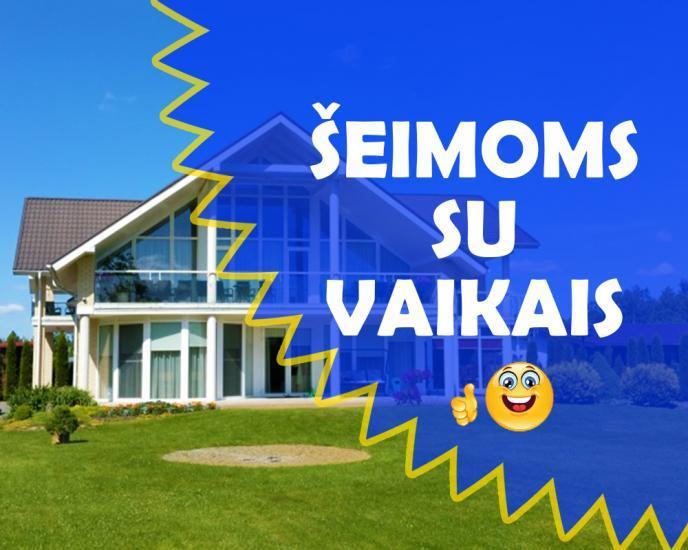SAULĖS VILA - geriausia vieta poilsiui šeimoms su vaikais!