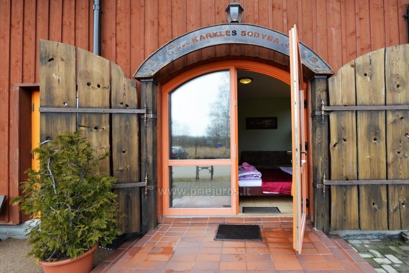 Banquets, Conferences, Apartments, Bathhouse in a Farmstead Karkles sodyba - 23