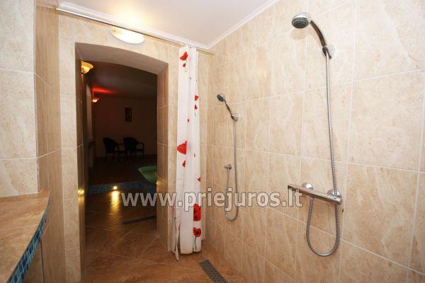 Nakvynė su pirtimi ir sūkurinė vonia (Jacuzzi) Klaipėdoje - 4