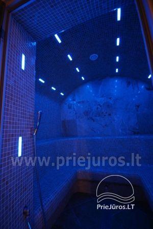 Nakvynė su pirtimi ir sūkurinė vonia (Jacuzzi) Klaipėdoje - 12