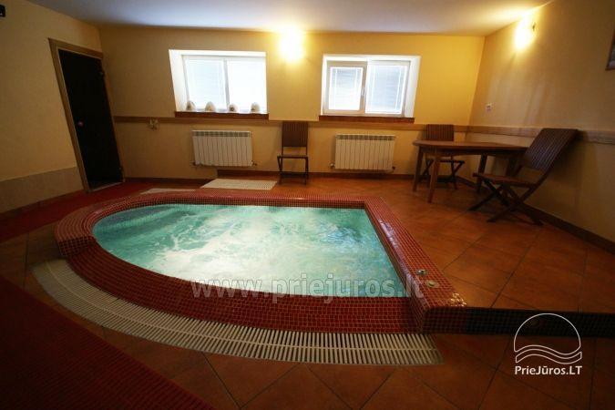 Nakvynė su pirtimi ir sūkurinė vonia (Jacuzzi) Klaipėdoje - 13