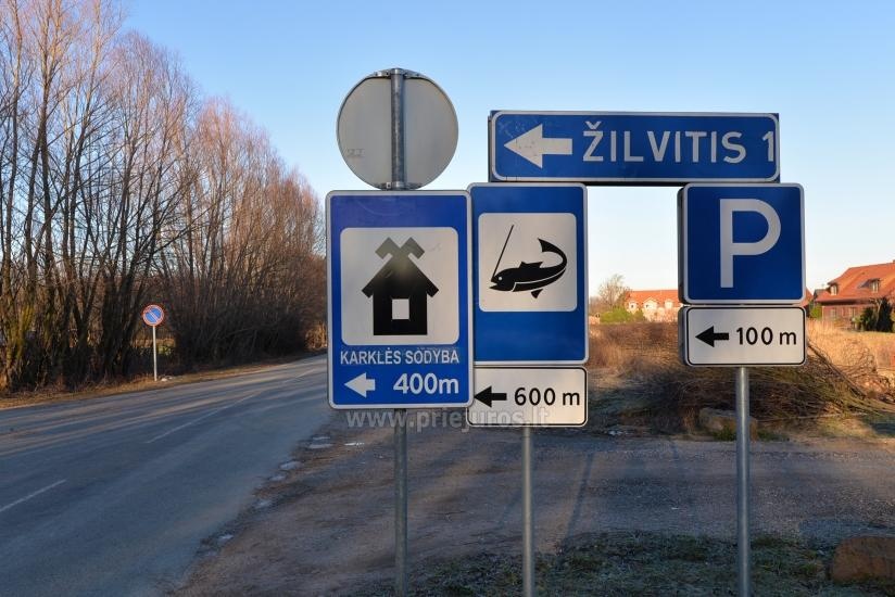 Fishing on the sea shore in Klaipeda region, car-access to the sea shore - 26