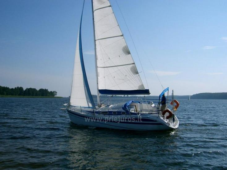 Trips by ship - yacht NOTANGA in Curonian lagoon - 1