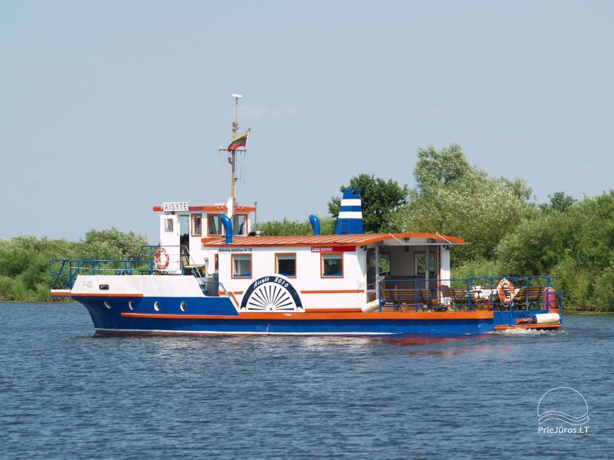"""Pramoginiai plaukimai 50 vietų laivu """"Aisytė"""" su banketu - 2"""