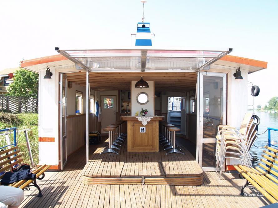 """Pramoginiai plaukimai 50 vietų laivu """"Aisytė"""" su banketu - 3"""