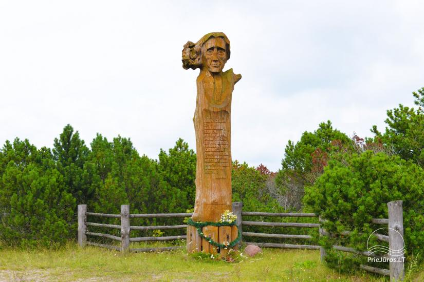 Monument to Liudvikas Reza near Pervalka - 1