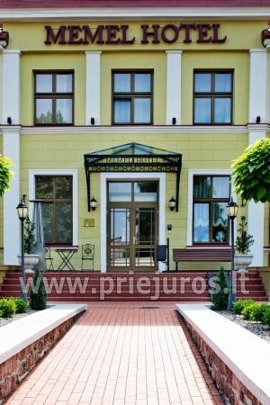 MEMEL HOTEL rezervuojant 5 ir daugiau kambarių KONFERENCIJŲ SALĖ NEMOKAMAI ! - 1