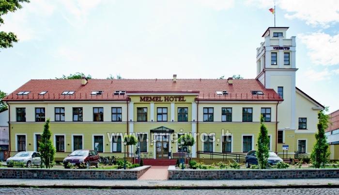 MEMEL HOTEL rezervuojant 5 ir daugiau kambarių KONFERENCIJŲ SALĖ NEMOKAMAI ! - 2