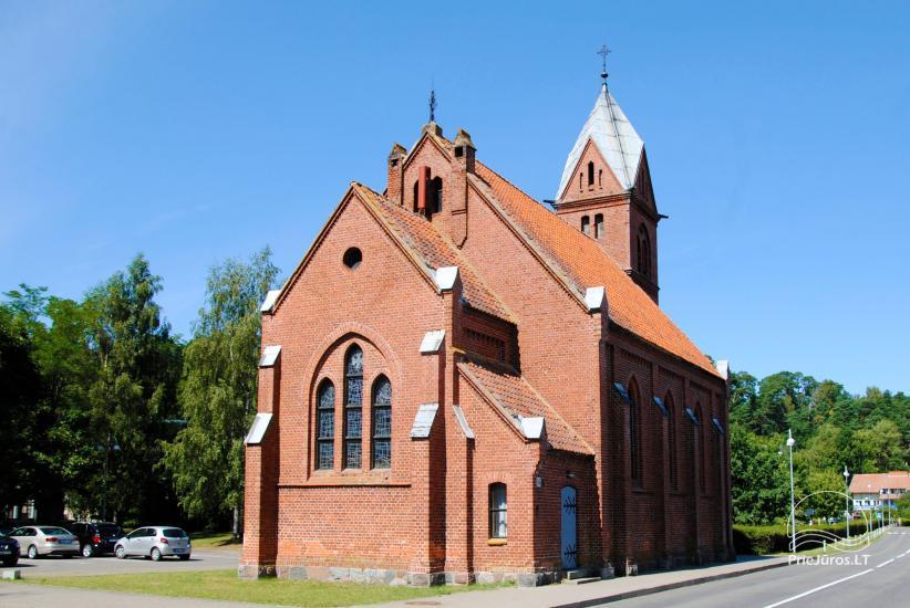 Evaņģēliski luteriskā baznīca Juodkrantē - 1
