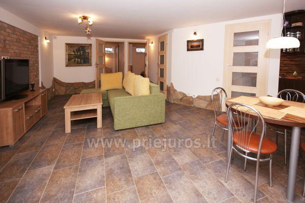 Apartamentai Šventojoje su sauna, 500 metrų iki jūros - 2