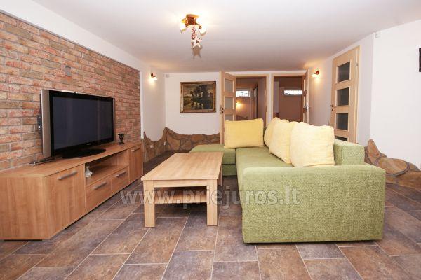 Apartamentai Šventojoje su sauna, 500 metrų iki jūros - 1