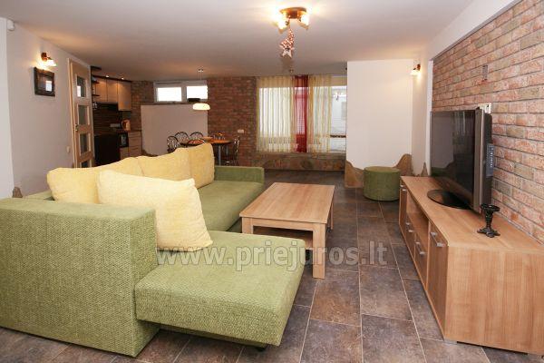 Apartamentai Šventojoje su sauna, 500 metrų iki jūros - 3