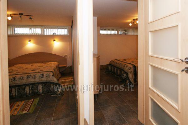 Apartamentai Šventojoje su sauna, 500 metrų iki jūros - 7