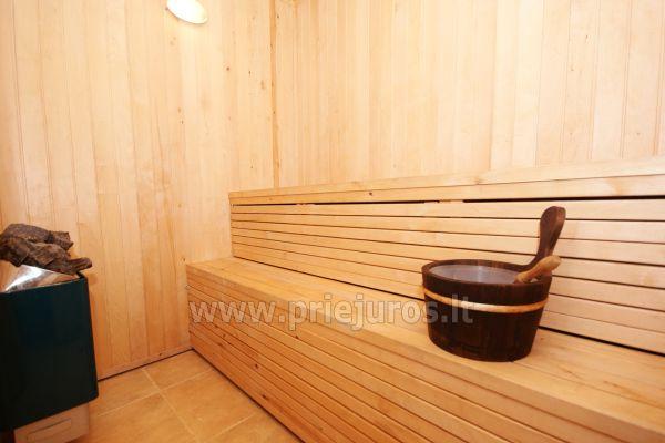 Apartamentai Šventojoje su sauna, 500 metrų iki jūros - 11