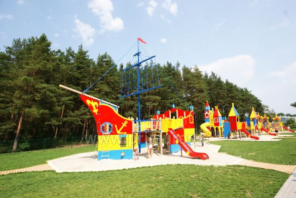 Palanga children park: swings, games, cafe, children events - 4