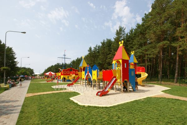 Palanga children park: swings, games, cafe, children events - 5