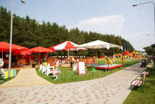 Palanga children park: swings, games, cafe, children events - 7