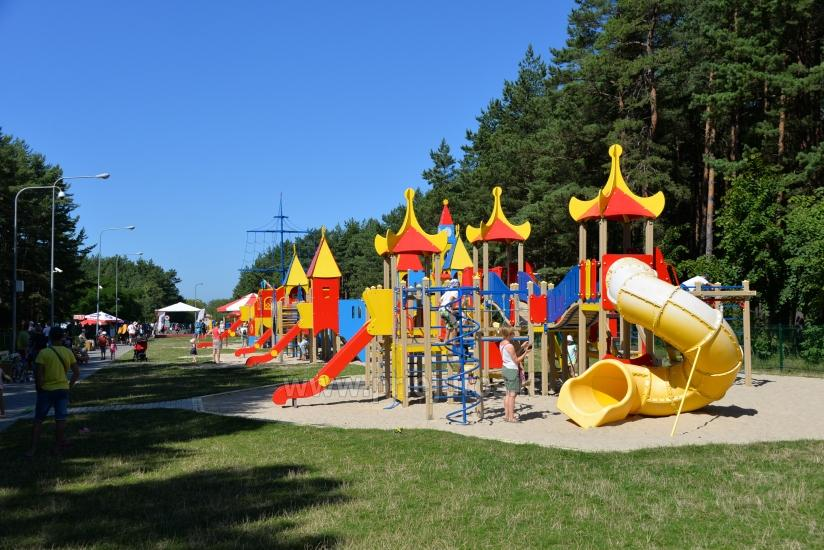 Palanga children park: swings, games, cafe, children events - 2