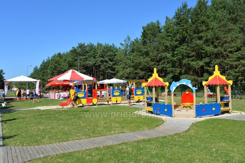 Palanga bērnu parks: šūpoles, spēles, mini braucieni, kafejnīca, pasākumi bērniem - 3