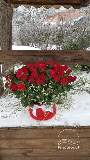 Gėlės, gėlių prekyba ir pristatymas, patalpų, stalų dekoravimas, dovanos - 3