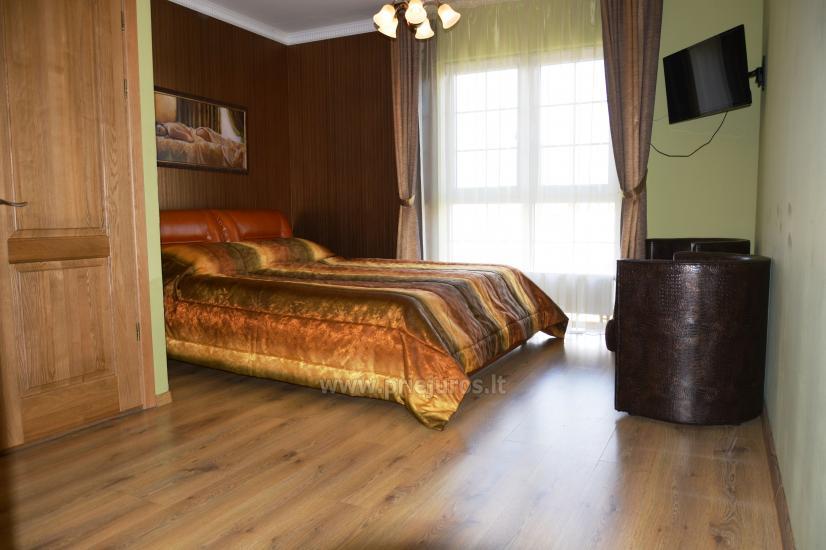 Pirtis, salė, šildomas baseinas ir nakvynės kambariai Daugėlų sodyboje šalia Klaipėdos Župė - 7