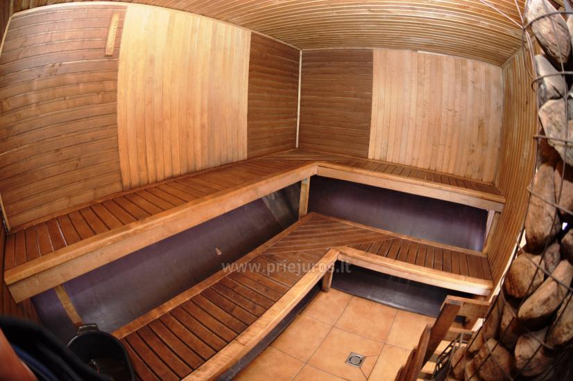 Pirtis, salė, šildomas baseinas ir nakvynės kambariai Daugėlų sodyboje šalia Klaipėdos Župė - 21