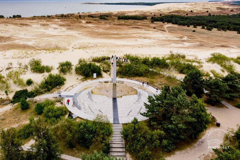Parnidis dune and Sun clock in Nida - 4